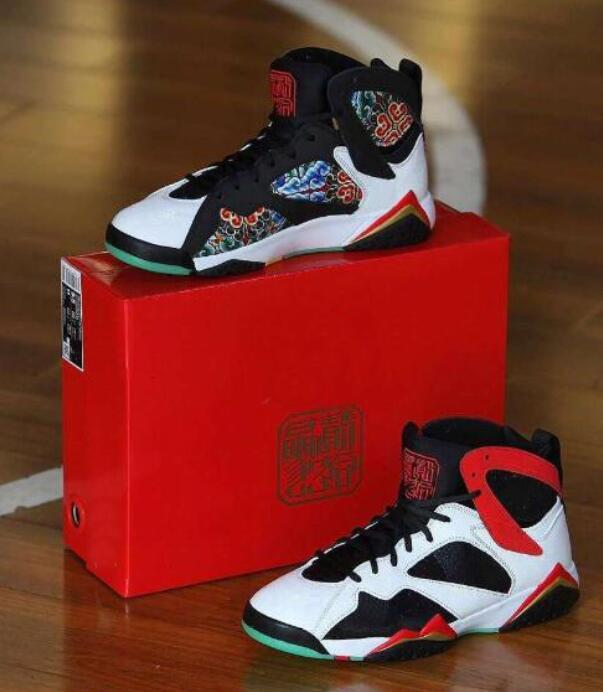 Meilleure qualité 7s Chine Chaussures de basketball Hommes Femmes 7 Chine Sneaker Sports avec boîte