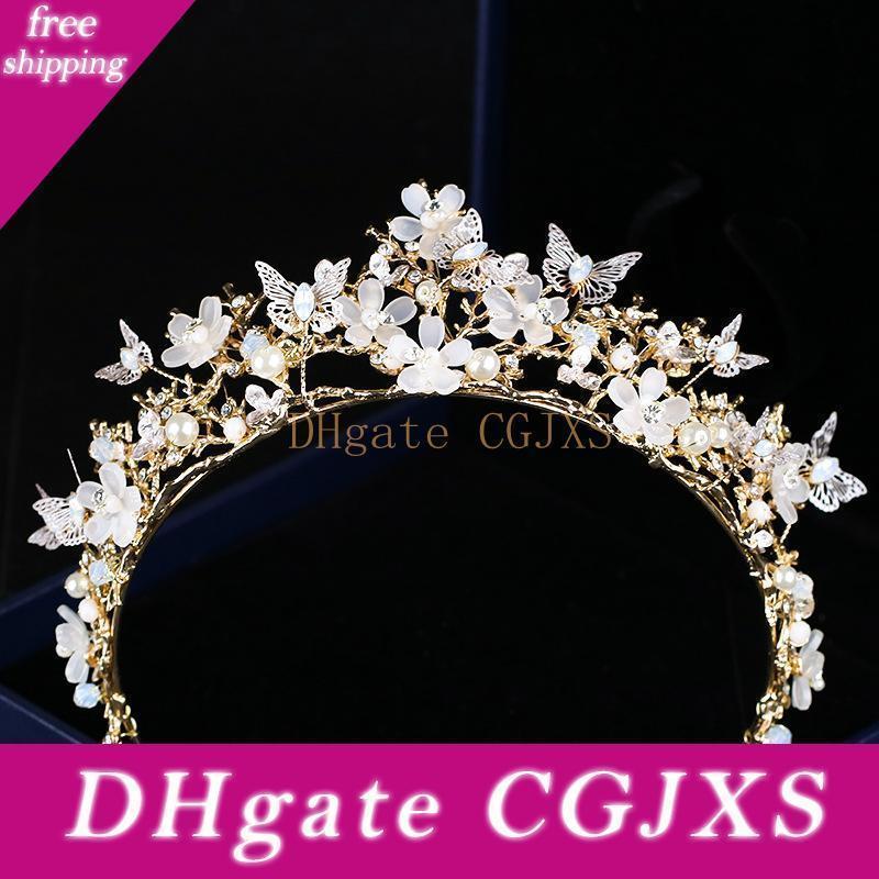 Lusso 2019 Wedding Tiara nuziale strass capo pezzi di cristallo Fasce accessori nuziali dei capelli di sera abiti da sposa