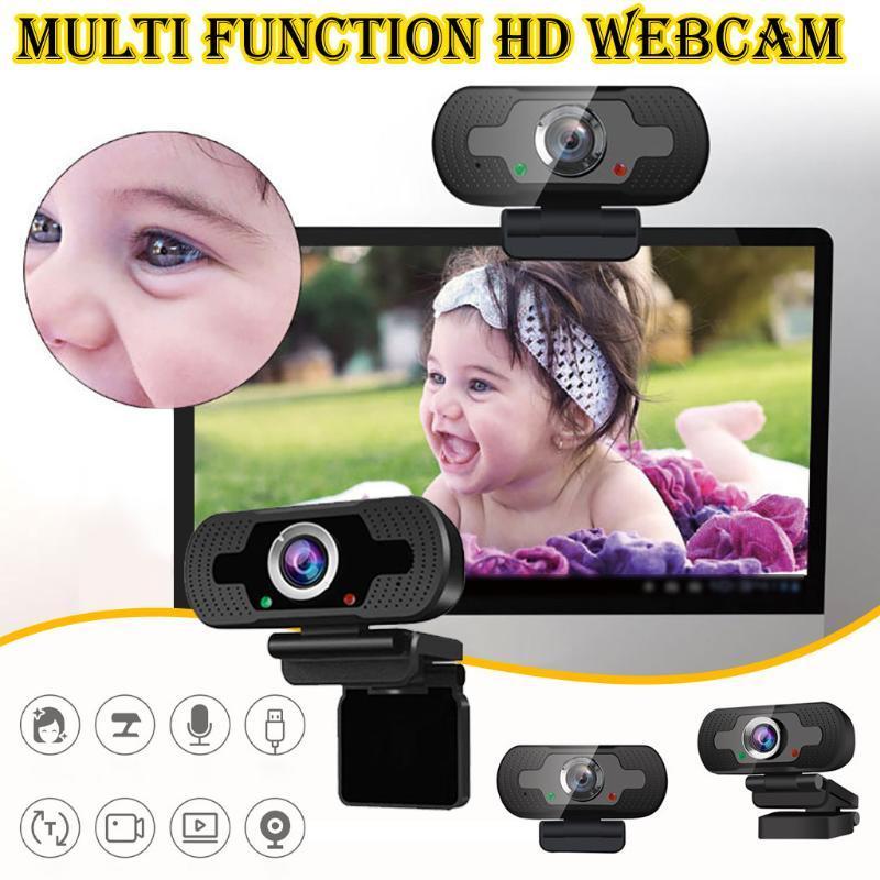 HD Webcam multifunzione desktop pc fotocamera USB Camera conveniente per Live Broadcast Video Chiamata conferenza Computer Accessories