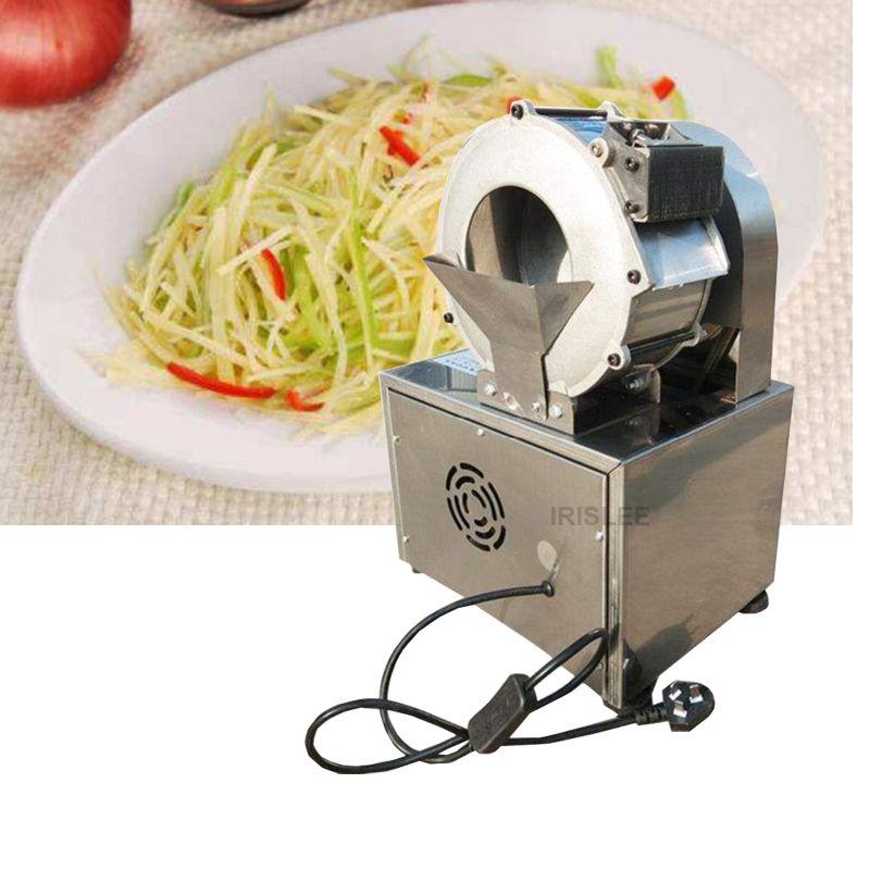 2020 multi-fonction automatique de coupe machine commerciale électrique de pommes de terre de carotte au gingembre Slicer déchiqueter coupe-légumes