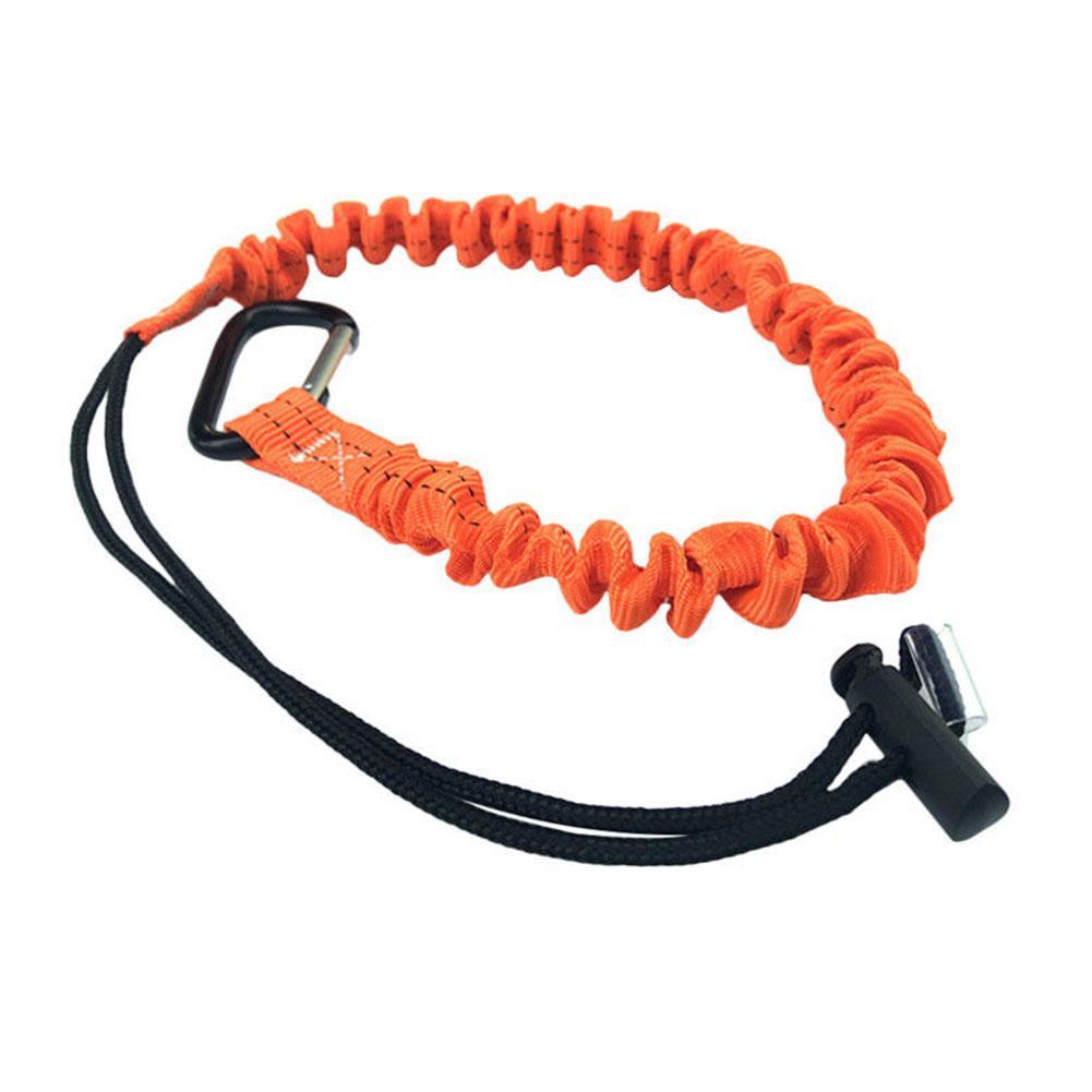 Mousquetons assurage rétractables de sécurité corde télescopique élastique Outil d'escalade
