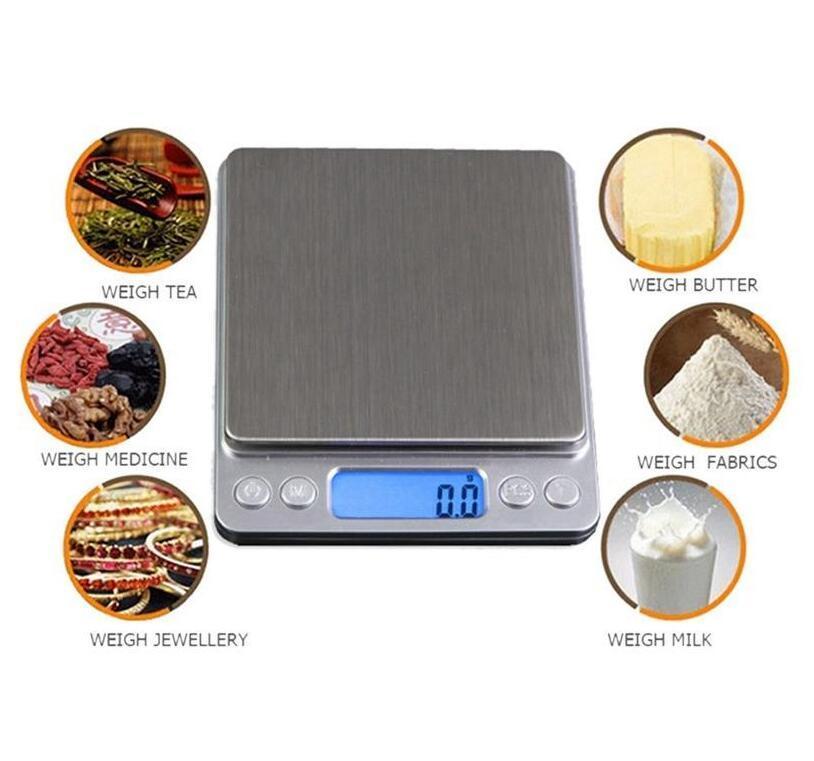 ميزان مطبخ ديجيتال الميزان المحمولة الجيب LCD البسيطة مقياس الالكترونية المنزل والحديقة الوزن ميزان رقمي وزنها آلة GWC913