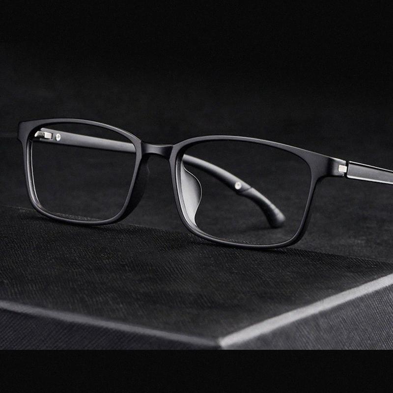 Полный Rim очки Оптические очки Ацетат кадр очки Мужчины Стиль горячий продавая Прямоугольник очки Размер Информация 6KAG #