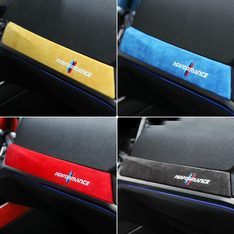 Tableau de bord ALCANTARA Wrap voiture Décoration M Performance Instrument Panel Stickers autocollant pour BMW G20 G28 Série 3 325i 2020 325li