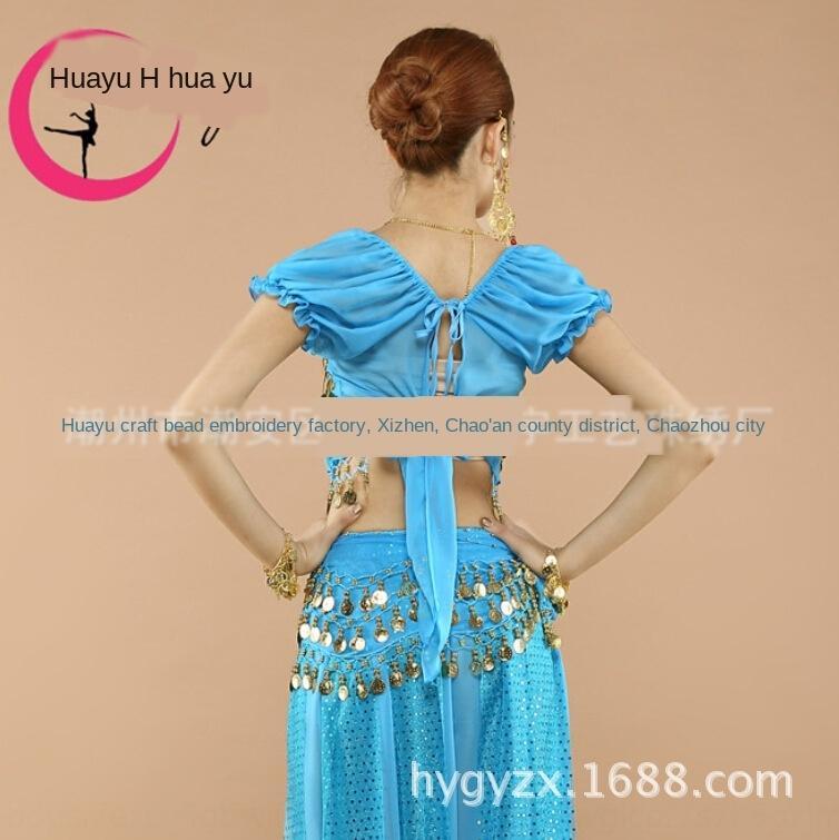 dDaZQ Huayu nuovo costume costume vestiti abiti di scena vestiti del ventre Xinjiang danza prestazioni palco spettacolo di danza indiana