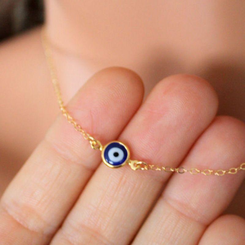 2020 Bohemian Collana con regalo di giorno madri Blue Evil Eye sospensione per il compleanno Amicizia Gioielli