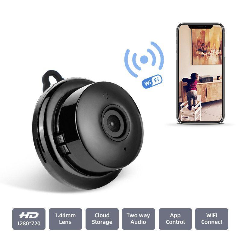 BENTOBEN Mini Wi-Fi камера ночного видения 720P Беспроводная IP-камера безопасности Главная видеонаблюдения камера Two Way Audio Baby Monitor