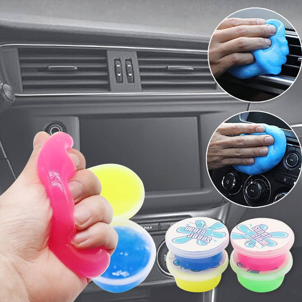 Magia suave pegajoso pegamento limpio limo suciedad polvo limpiador para los suministros de limpieza de coche
