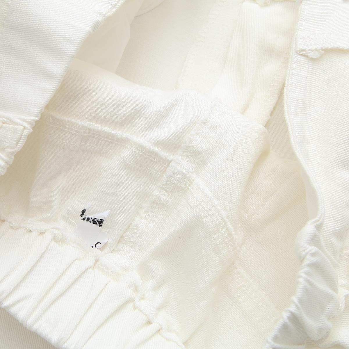 rERDH semplice grande 200kg abbigliamento femminile dimensioni lavati e jeans di colore dei jeans mm solido grasso foro casuale dimagrante pantaloni corti 376.867