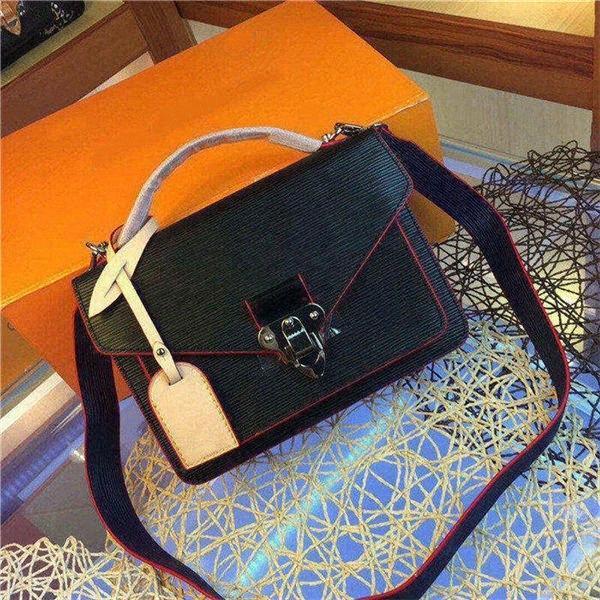 borse donne del fiore in vera pelle di alta qualità V Brown catena di borsa crossbody borse a tracolla singola tote borse frizione 6 colori VDkd #