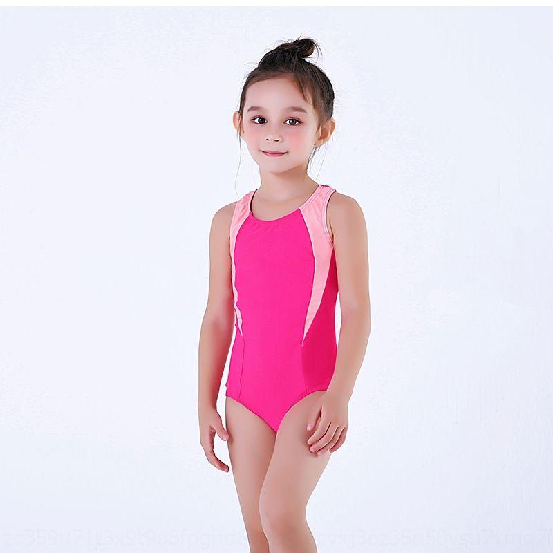 niñas de DwoLi traje de baño de los niños deportes profesionales customizable de una sola pieza traje de baño triángulo de las niñas de los niños profesional tri deportes EFZ4p