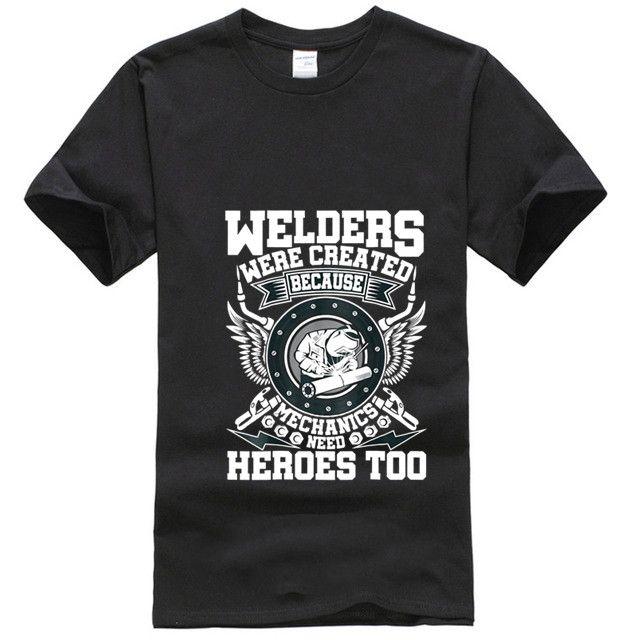Männer T-Shirt WELDING SHIRT WELDERS SO MECHANICS HAV T-Shirts Frauen T-Shirt
