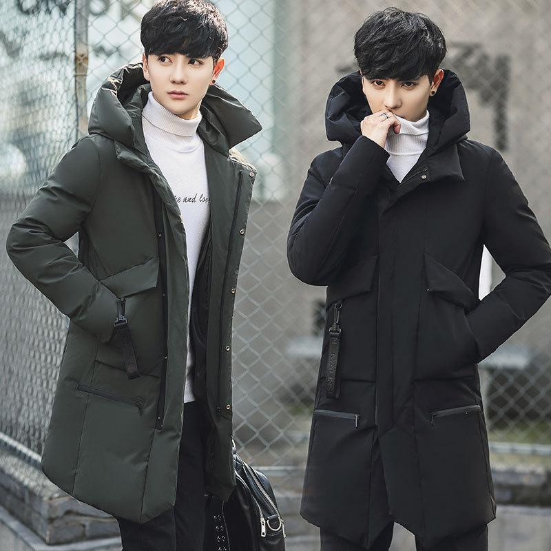 Nueva llegada Coat Parka Hombres masculina del invierno de algodón caliente gruesa chaqueta invierno del hombre, además de terciopelo espesado Outwear la chaqueta para los hombres