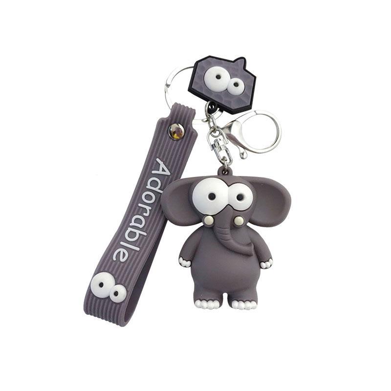 Divertido cadena linda hace estallar del ojo de elefante de gel le Key, para los regalos de promoción de publicidad