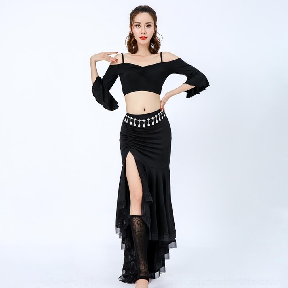 jwTTu 8hE7n новый танец живота танец практика костюм костюм индийский весна взрослый костюм 2020 летней женщины для одежды Одежда начинающих