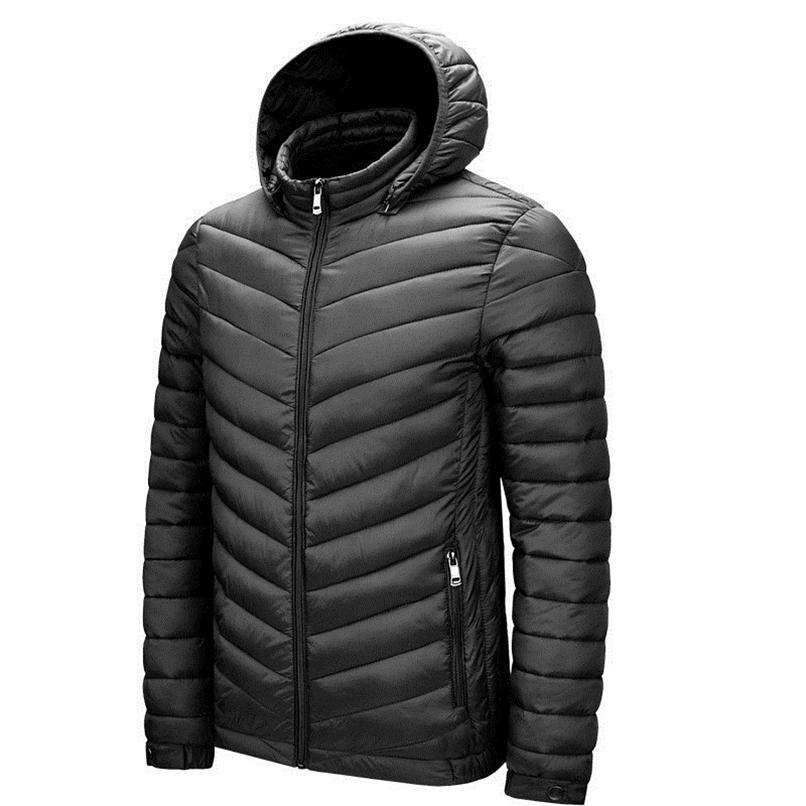 Herren Winter warmer Outdoor-Daunenjacke heißen Verkauf Art und Weise UJJDS