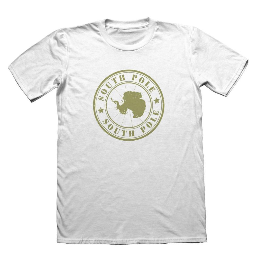 2019 Nouveau été de coton pour hommes T-shirt Antarctique Pôle Sud T-Shirt Design - Mode cadeau drôle de T-shirt Conception