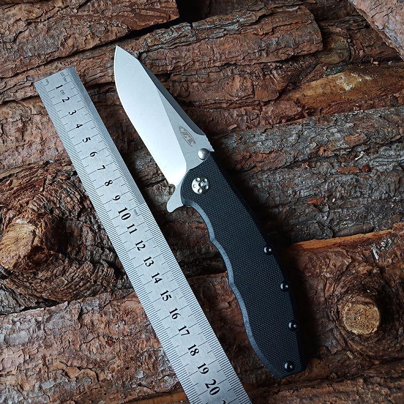 Couteaux pliants zéro tolérance zt0562ts CPM-20CV COUPE DE SECAN DEFENSION DE LA LAME ORDINAIRE