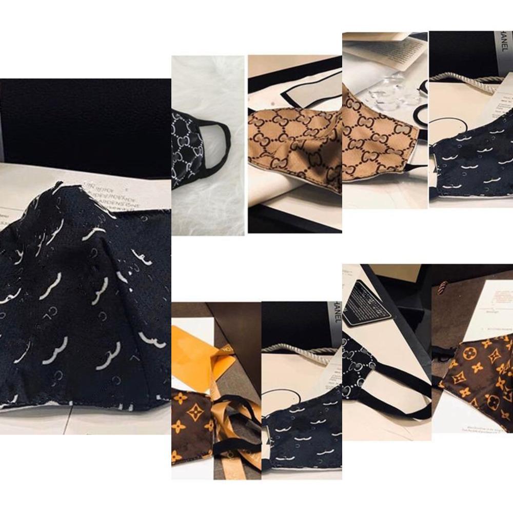 Maskeler Nefes Toz Geçirmez Yıkanabilir Tasarım Moda Unisex Sun Geçirmez FG7V Yüz Maskesi Ağız-Muffl Mektubu WebQM