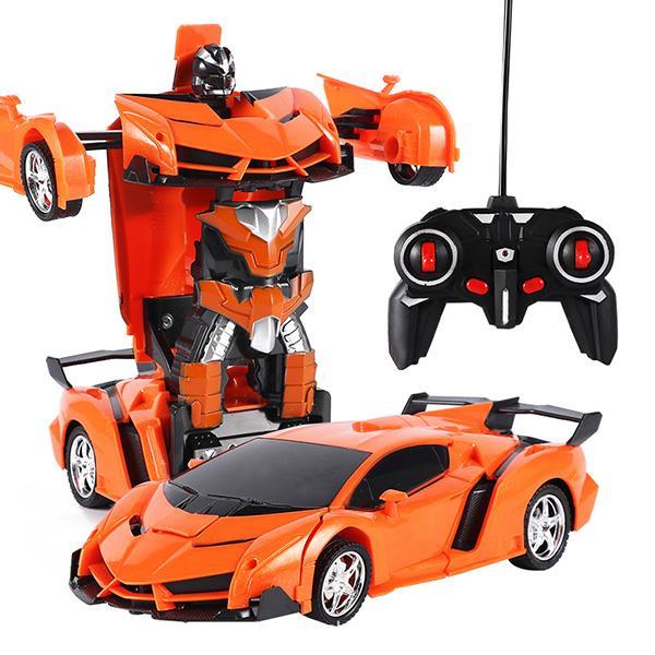 1 RC Araba Oyuncak Dönüşüm Robotlar Araba Sürüş Araç Spor Araba Modelleri Boy Oyuncak Uzaktan Kumanda Oyuncak Hediye Yeni 2