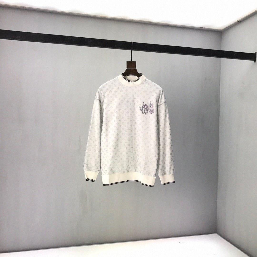 2020ss primavera e verão nova de algodão de alta qualidade de impressão de manga curta painel em torno do pescoço camisola Tamanho: m-l-xl-XXL-XXXL Cor: preto branco MpwN #