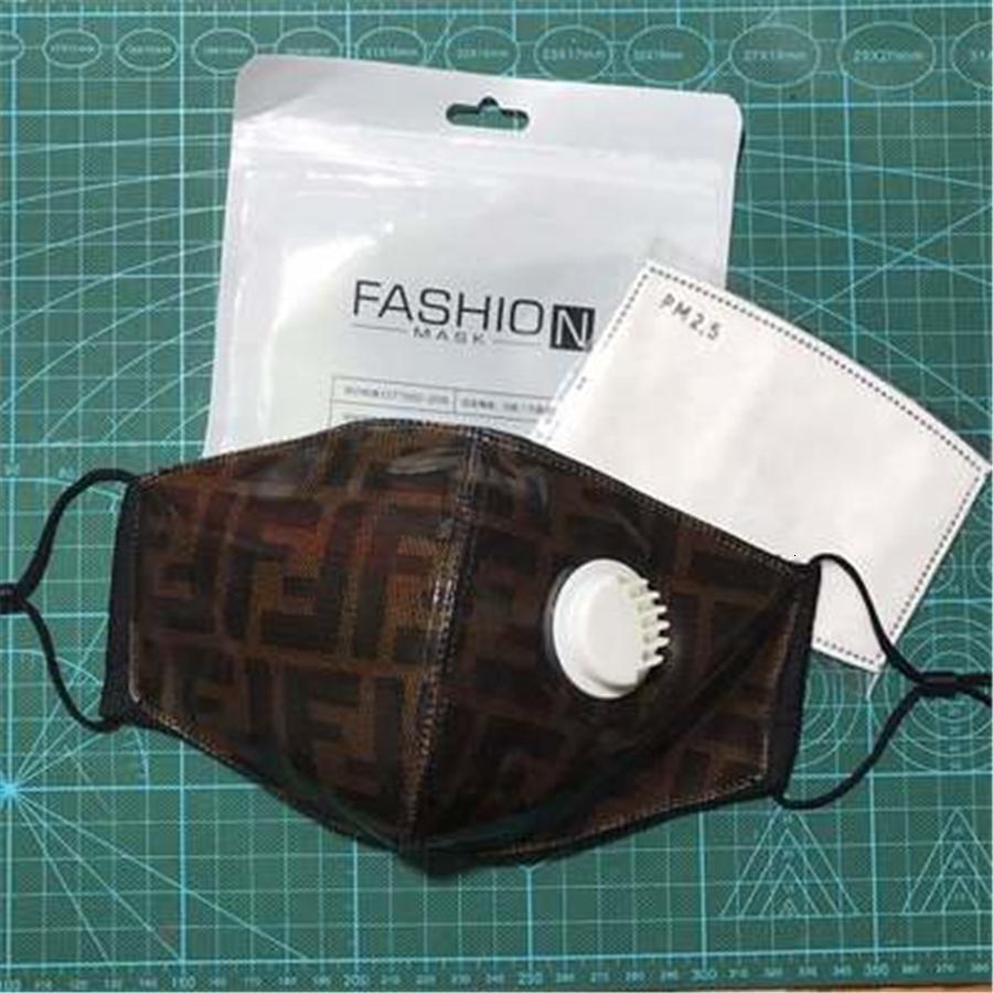Masques 20200611 Hommes soie glace Coton adulte Designer masque facial glace # 877