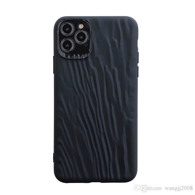لون الصلبة الهاتف للحصول على حالة iPhone11 11Pro ماكس XR XS ماكس X 8 حالات فاخر 7 الغلاف الخلفي