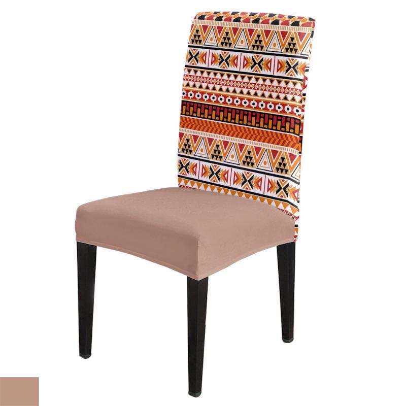 Patrones azteca étnica tradicional Silla de Comedor cubierta elástica Spandex de la silla Funda Caso estiramiento para la boda Hotel Agape