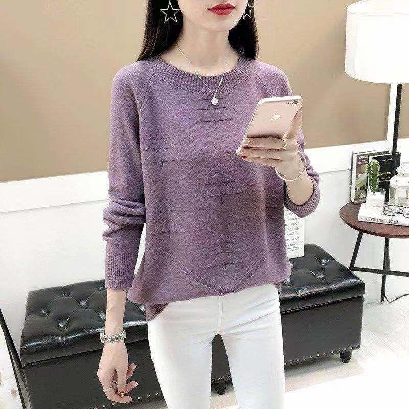 AY1044 2020 primavera otoño invierno nuevo mujeres moda casual cálido suéter mujer mujer mujer suéter jersey
