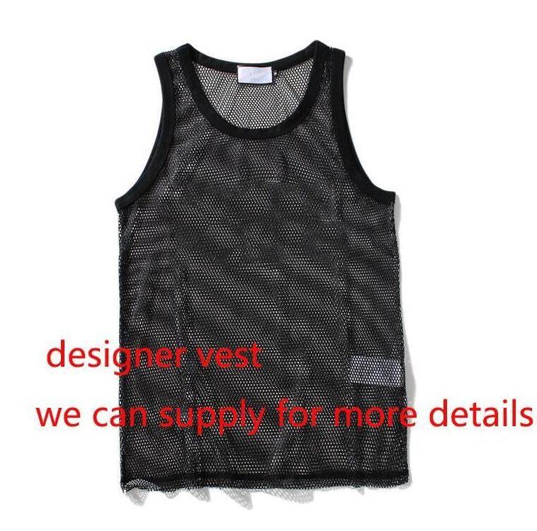 NEW أزياء الرجال تانك الأعلى مع رسائل داخلية الرياضة كمال الاجسام الصيف رياضة ملابس داخلية الملابس وجهة نظر رجال القمم M-XXL