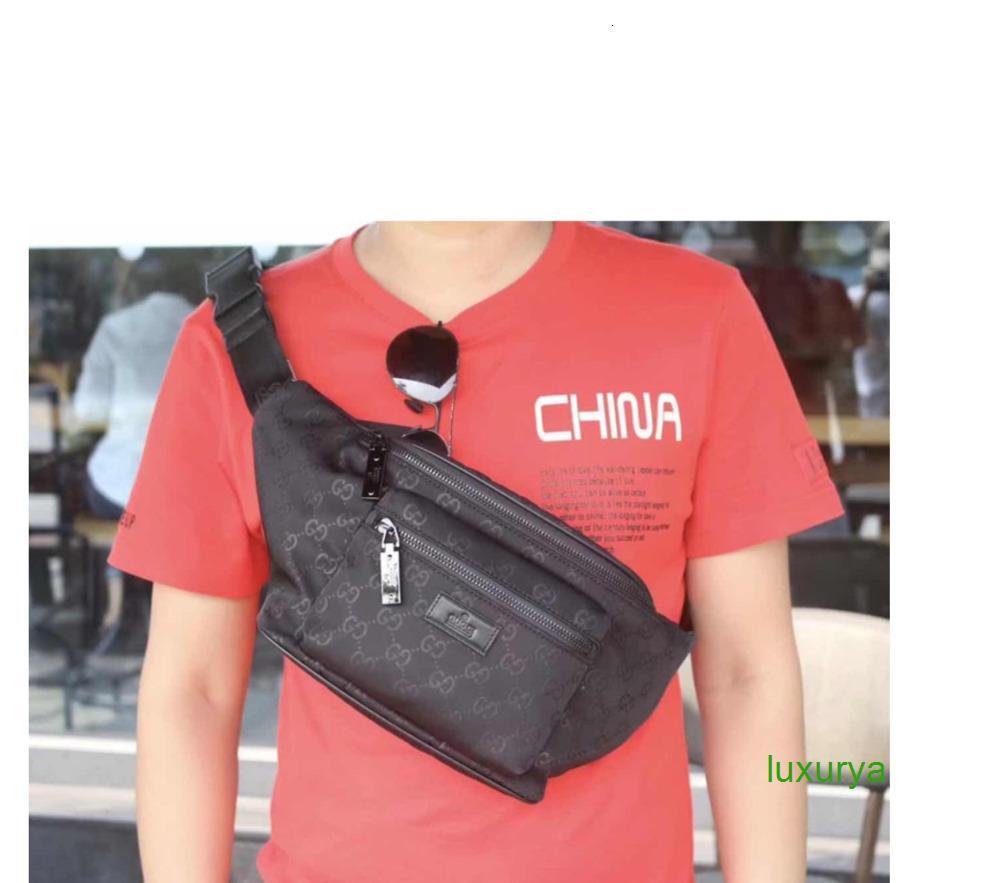 hombre hombro bolsas de mensajero cartera crossbody 2020 de los hombres El solo hombro bolsos del bolso de mano de las mujeres unisex 010501