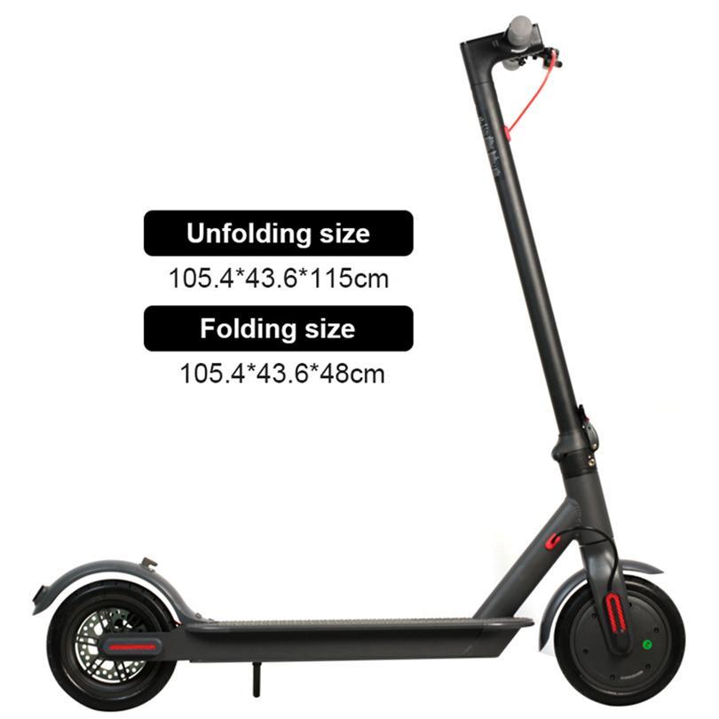 AB Stok Su Geçirmez KickScooter Elektrikli Scooter Yetişkin Scooter Off-Road E-Scooter Uygulaması ile MK083 Ücretsiz Hızlı Kargo