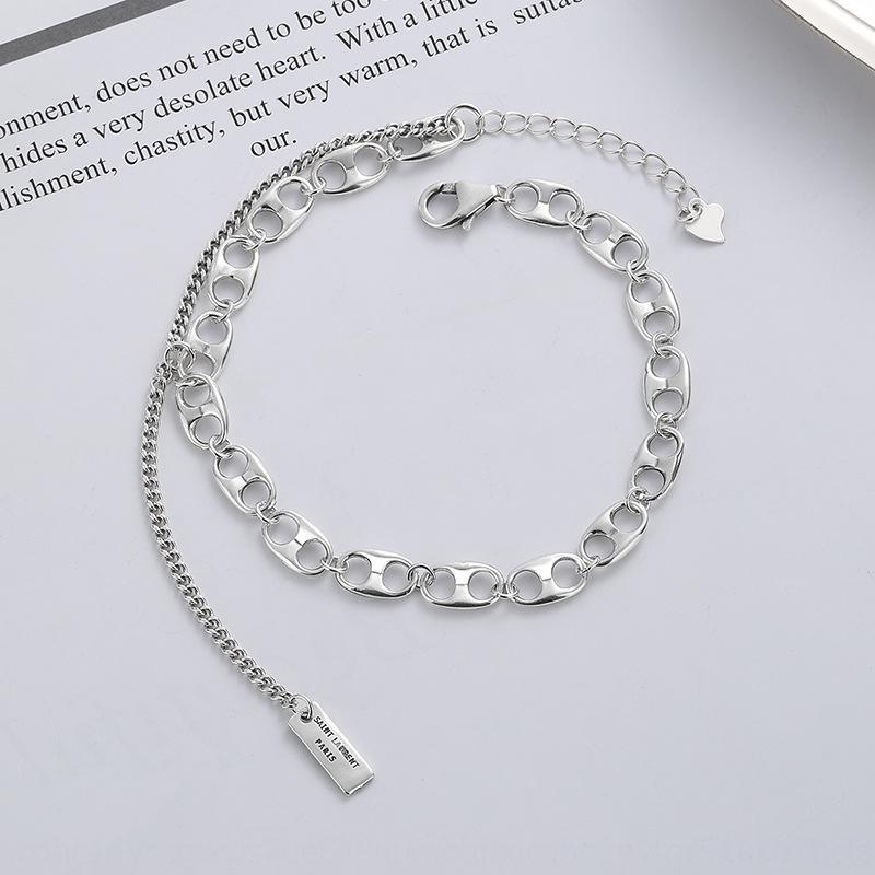 Pig catena Naso BraceletBracciale braccialetto vendita calda TikTok popolare online uomini popolari e moda gioielli delle donne creative