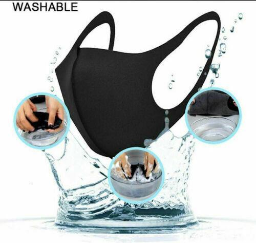 5masks wiederverwendbare Tuch-Gesichtsmasken Bezug waschbar Sommer Farbe Usa Pick-Maske