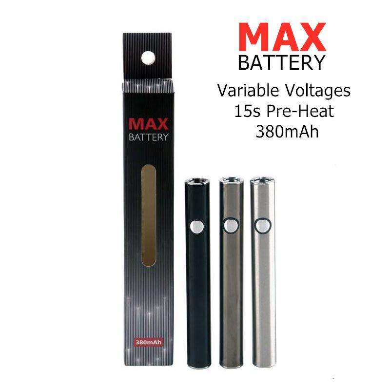 Originale batteria Vape Amigo Itsuwa Max Batteria per cartucce TH205 Liberty AC1003 batteria 510 filettatura per olio denso 380mAh VV Tensione Regolare