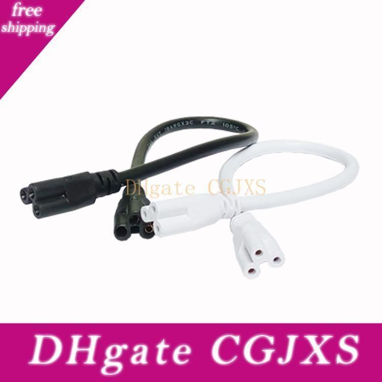 4ft LED integrato del tubo cavo di interconnessione di rete metallica per il cavo di collegamento 2 LED integrato negozio Luce 3pin Extension
