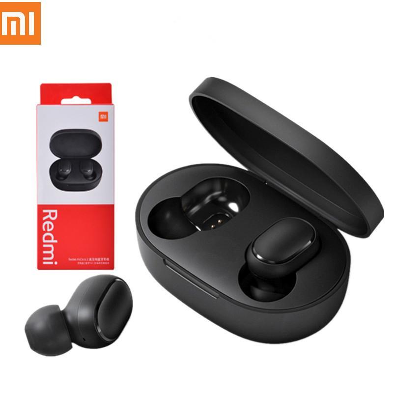Original Xiaomi Redmi Airdotes 2 TWS Écouteur sans fil Bluetooth 5.0 Écouteur Stéréo Stéréo Réduction MIC VOIX CONTRÔLE