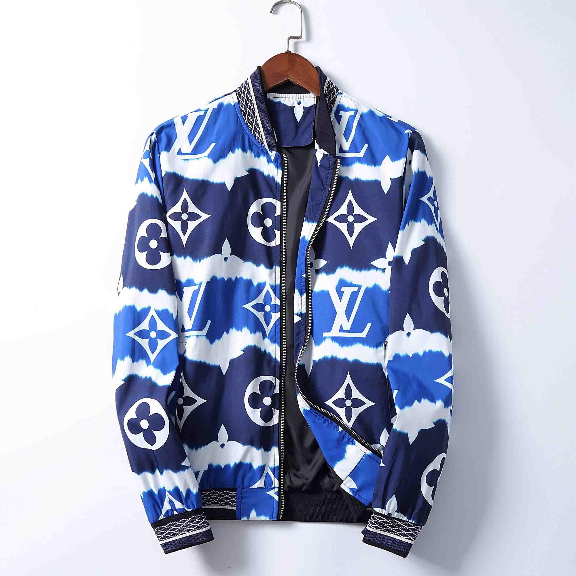 2020 Modedesigner-Jacke Windjacke Langarm-Herren Jacken Hoodie Kleidung Zipper mit Animal Letter-Muster Plus Size Kleidung M-3XL