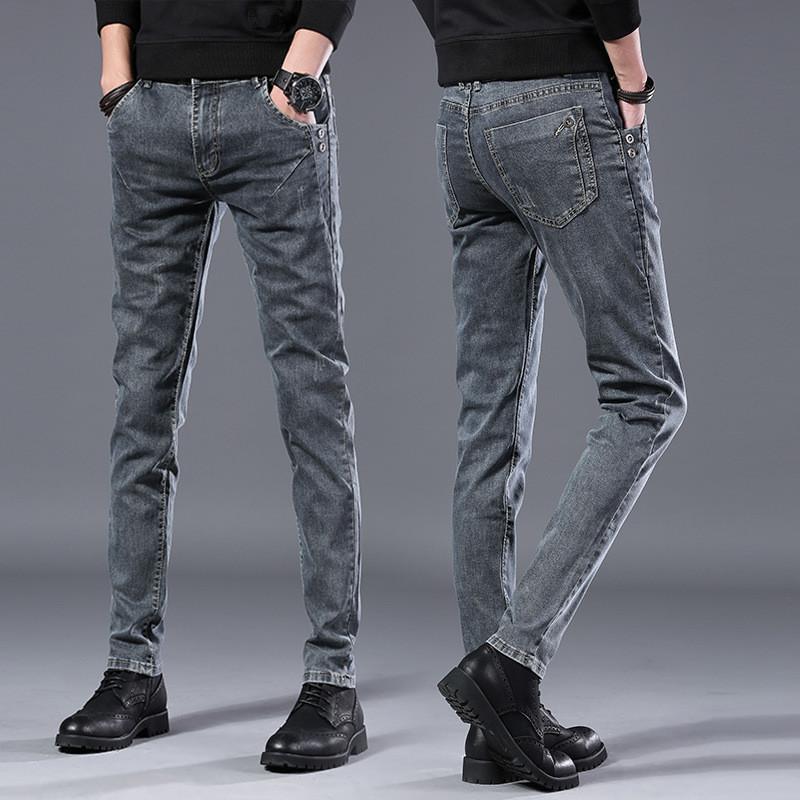 2020 spring autumn New men Jeans Black Classic Fashion Designer Denim Skinny Jeans men's casual High Quality Slim Fit Trousers CX200824