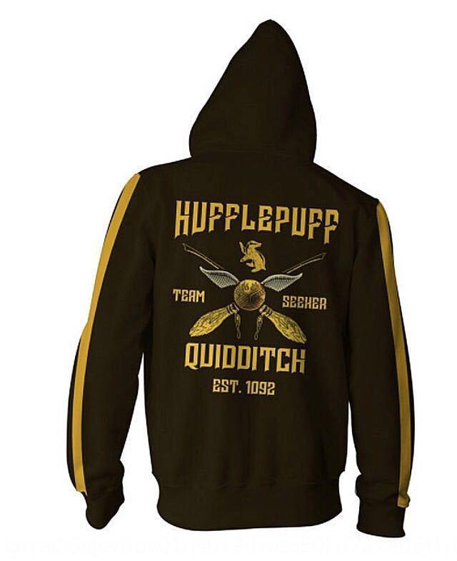 Hl3DV Harry capucha del animado sudadera suéter 3D cremallera chaqueta deportiva impresión Potter suéter sudadera chaqueta COS