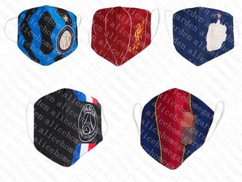 máscara Argentina de futebol múltipla algodão Equipes Nacionais Futebol de combinação aleatória máscara descartável pode ser posto em practica moda