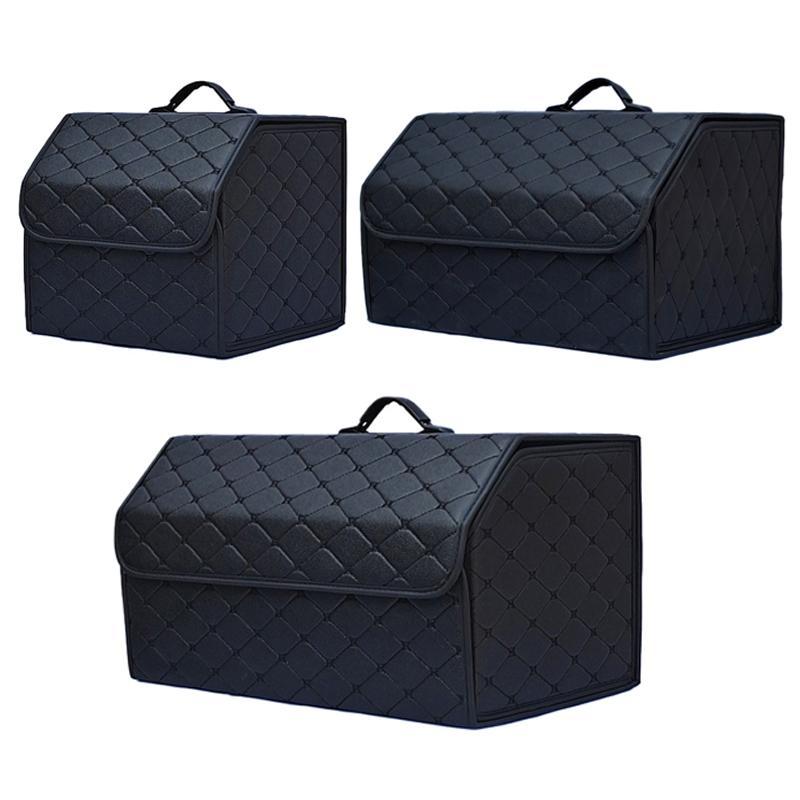 Multi zusammenklappbarer Auto-Kofferraum-Speicher-Organisator mit Deckel beweglichen Auto-Speicher-Beutel-Auto-Kofferraum Organizer CX200822