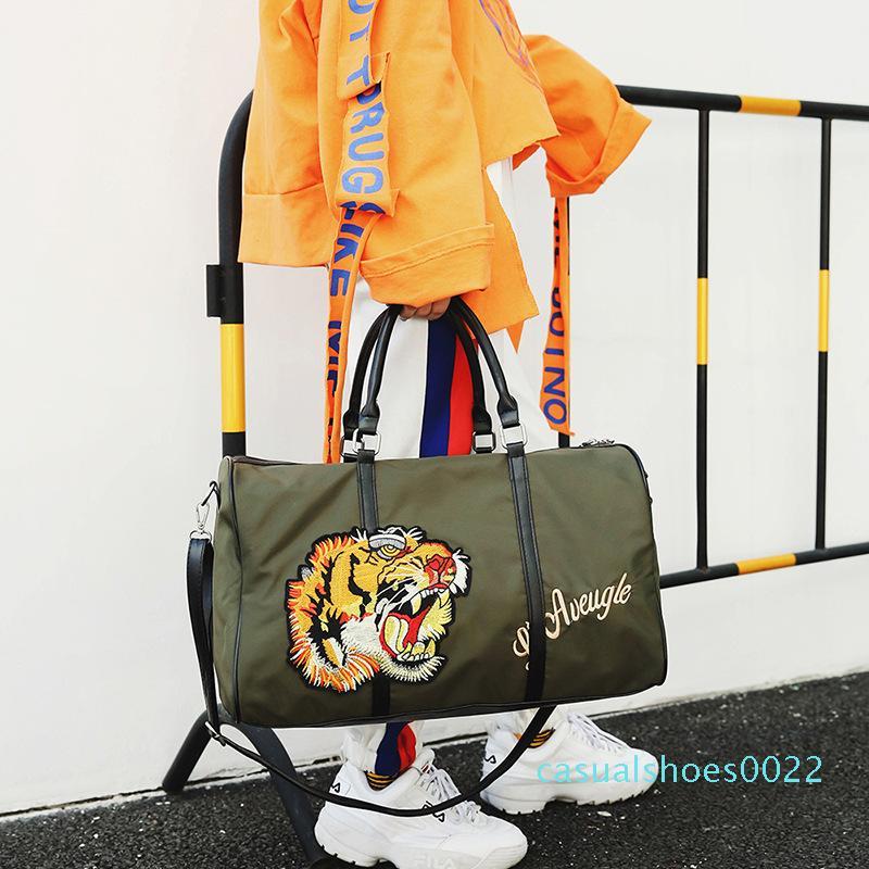 Pembe Sugao tasarımcı çanta kaplan seyahat torbaları cüzdan ve çanta omuz crossbody lüks seyahat çantası yeni stil yüksek kaliteli c22