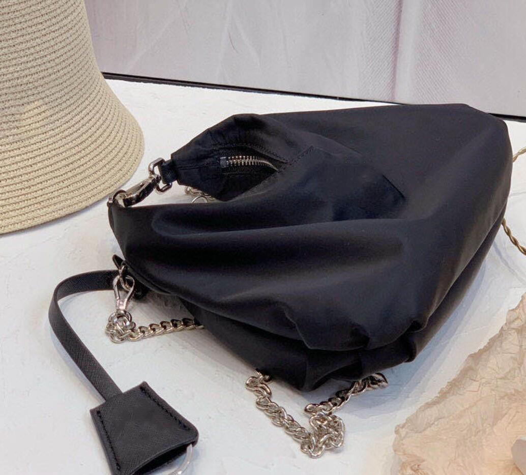 Nylon-Handtaschen arbeiten Dame der neuen Art-Schulter-Beutel-Kette Crossbody Brief Totes mit Box