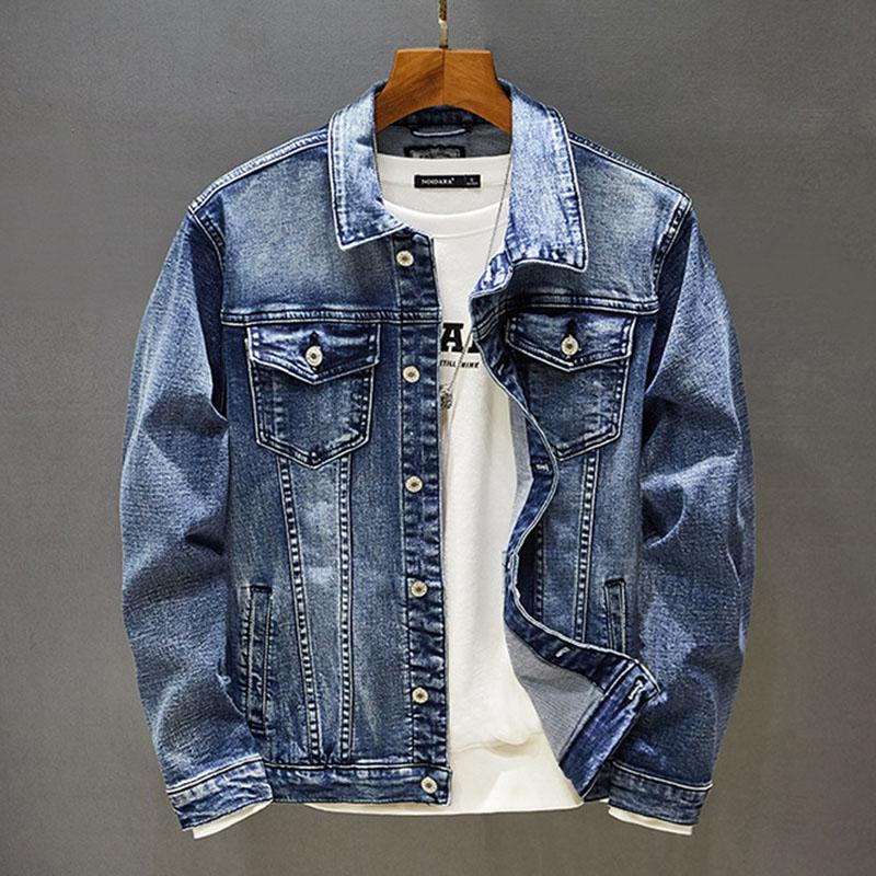 iSurvivor 2020 hombres de otoño del resorte del dril de capas de las chaquetas Jaqueta Maculina Manera masculina ocasional adelgazan color sólido chaquetas Outwear