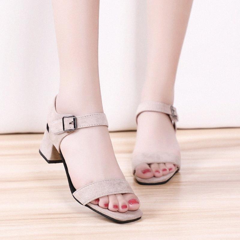 Wertzk Sandales 2020 Tenis Feminino été Nouveau Chaussures ouvertes Mode Plate-forme Escarpin Sandales Chaussures Femmes Chaussures Femmes S209 ujhE #