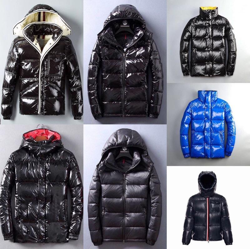 Al por mayor de la chaqueta del diseñador del invierno Maya ropa Ganso caliente abrigos al aire libre en línea invierno de la chaqueta chaqueta de invierno para hombre Parka clásico de Down