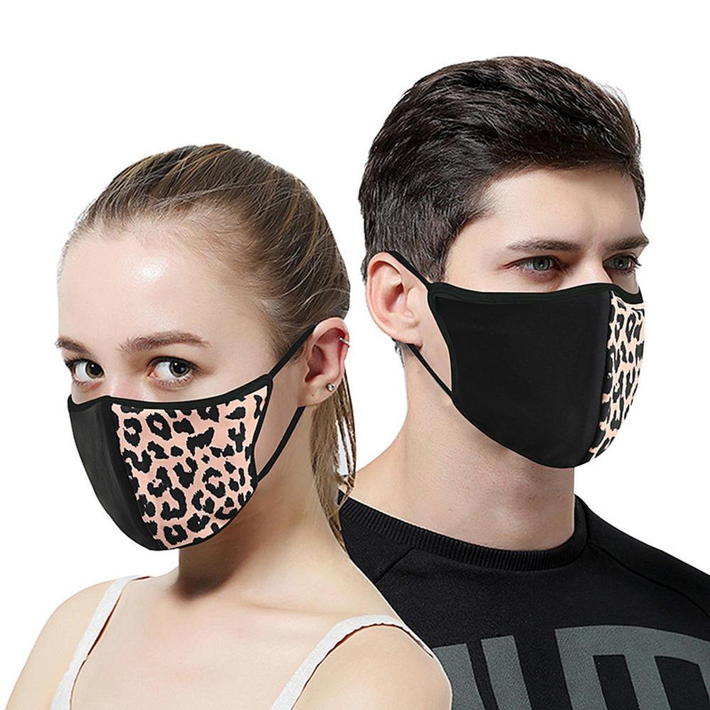 3 Baskı Stilleri Yeni Moda Cheetah Maskeler Anti-toz önleyici duman PM2.5 Filtre Açık Bisiklet Nefes Yıkanabilir Ücretsiz Shipping1 Maskesi