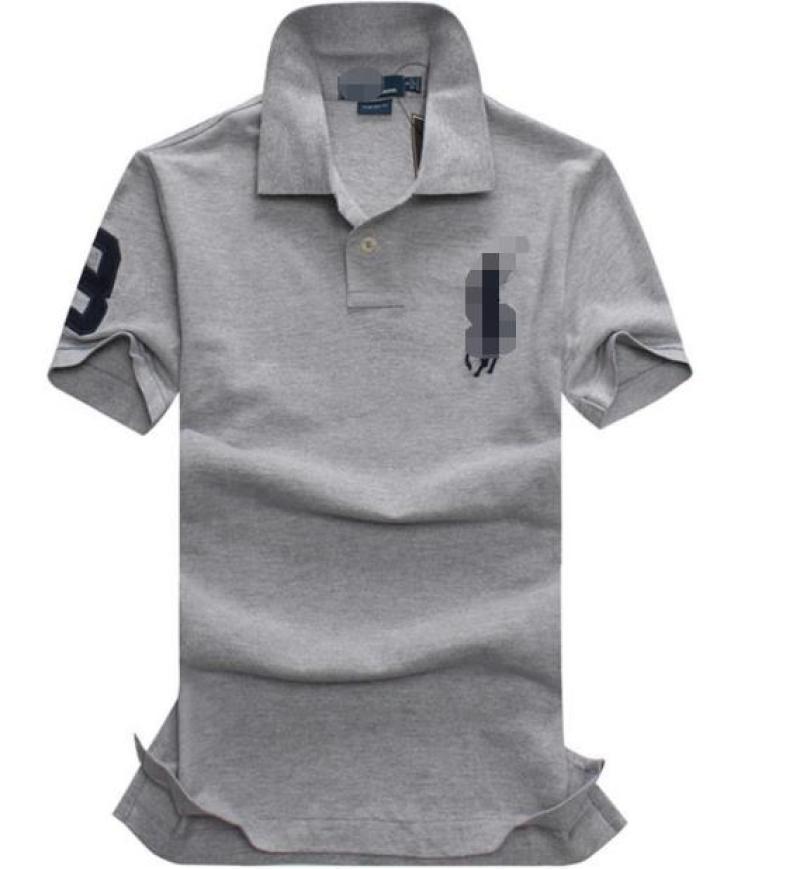 Grigio scuro V-Neck Pure Color Menswear comodamente in primavera e in autunno T-shirt con maniche corte 2026