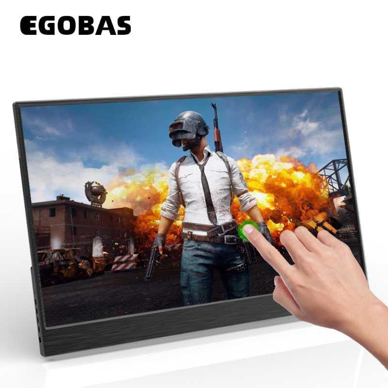 15,6 ultrafinos Al Liga Touchscreen PD portátil reverso Monitor de Carga para o portátil XBOX Telefone Mudar PS4 Gaming Monitor de Trabalho